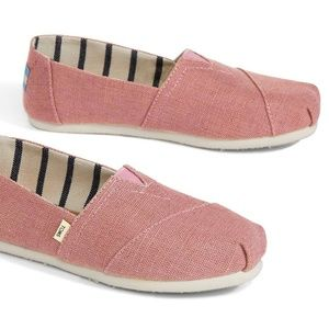 TOMS in Women Rosette Heritage Canvas shoes